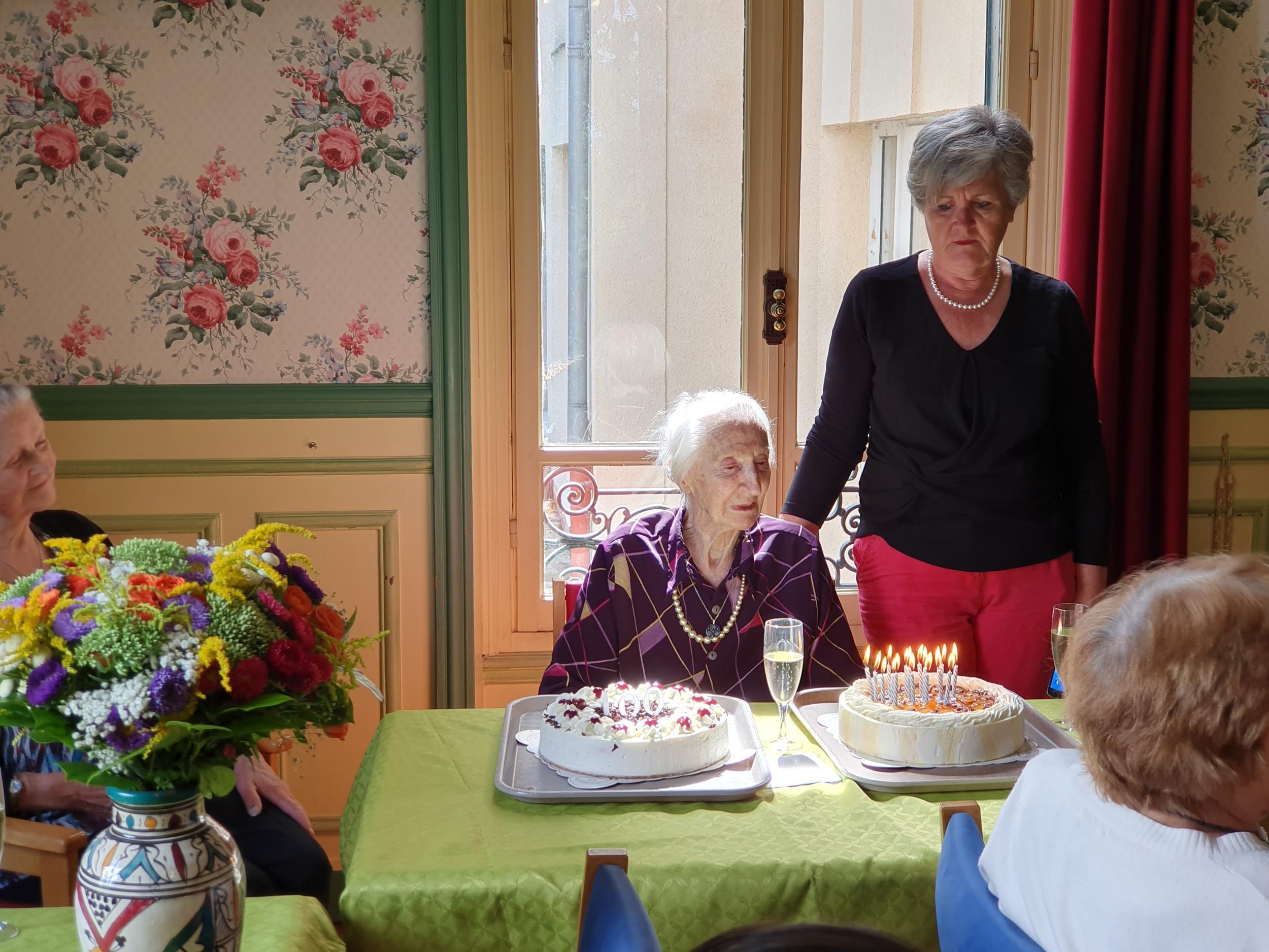 Madame Derval fête ses 100 ans!