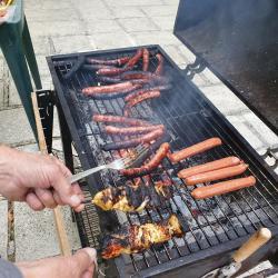 Jeudi 23 août, du soleil  : un petit barbecue s'impose.