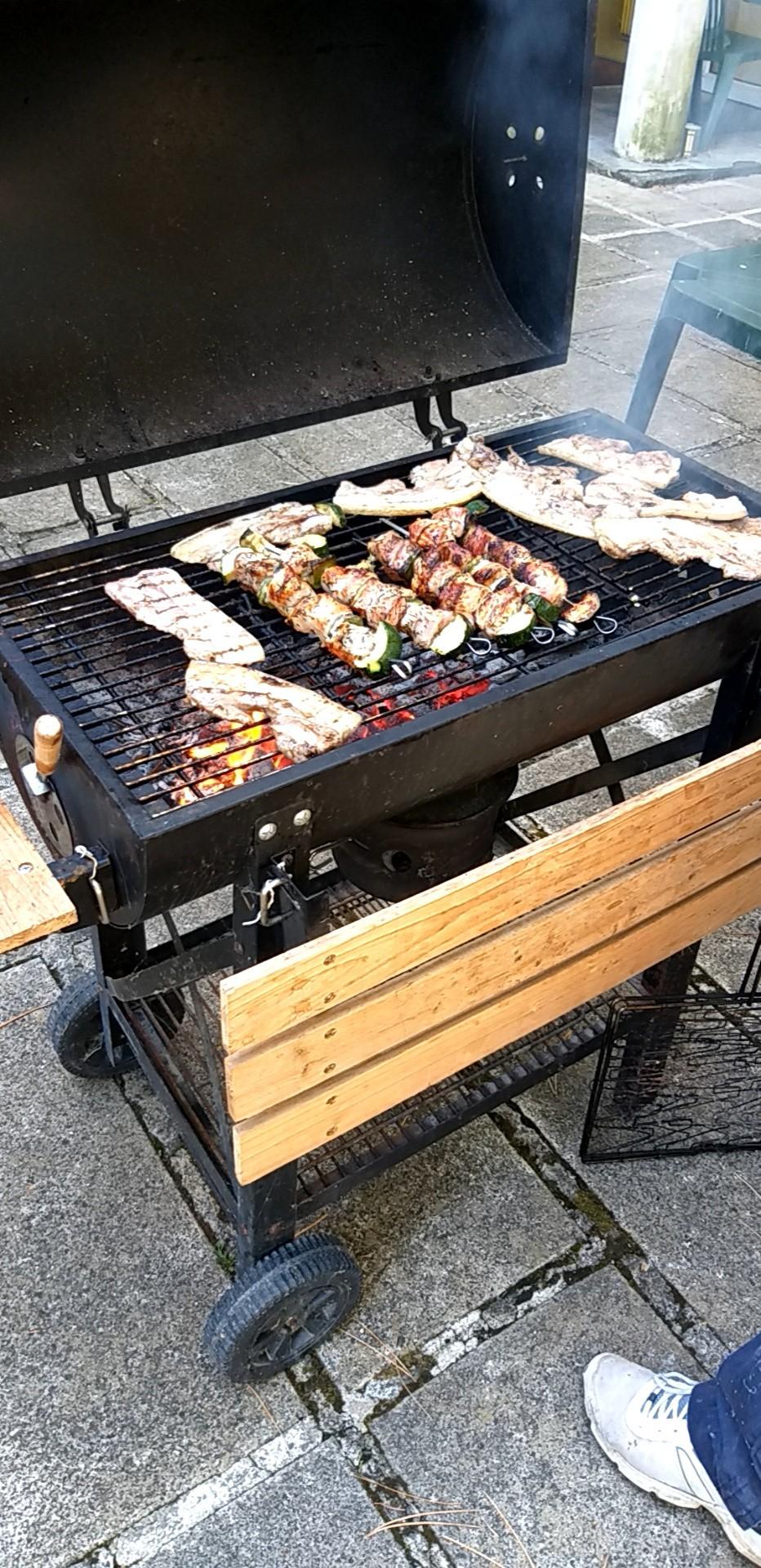 Barbecue à la Résidence