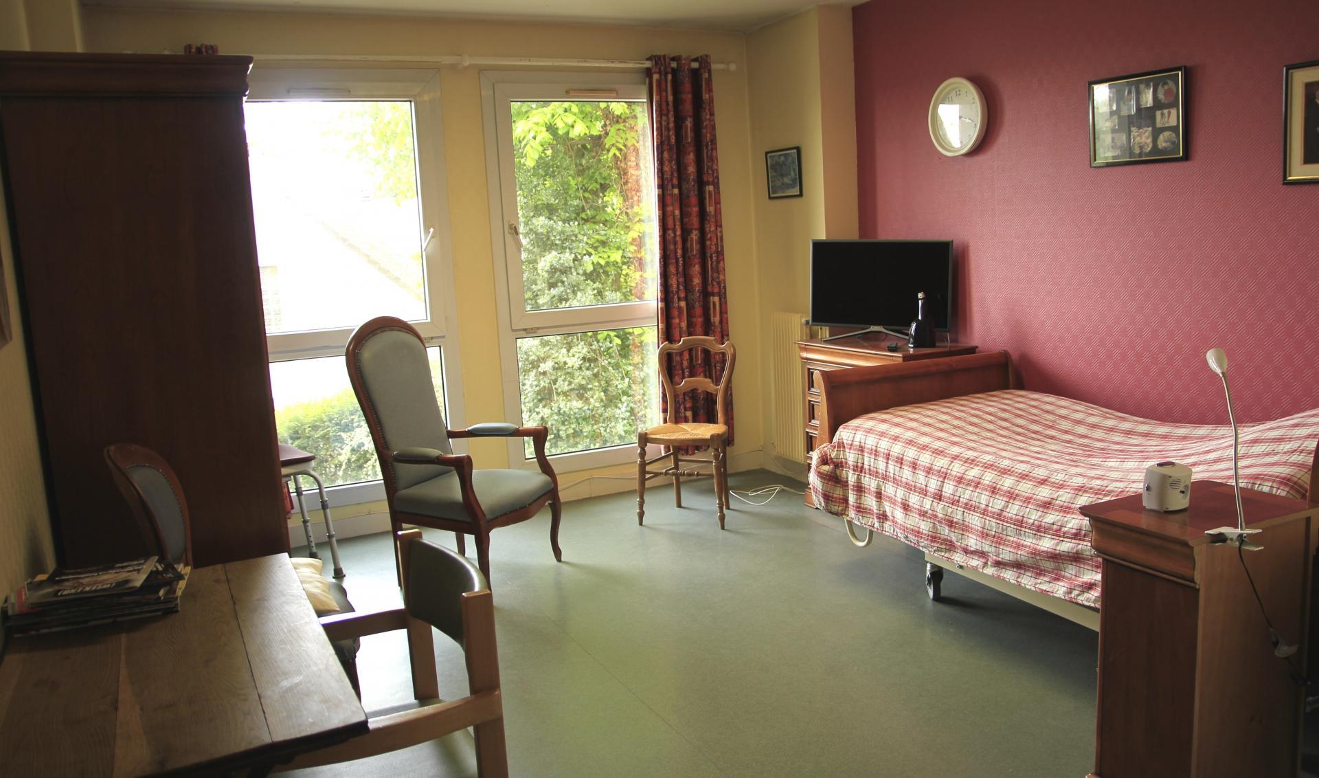 Chambre4 Résidence sénior Maison de Retraite Ma Vallée Us Val d'Oise 95