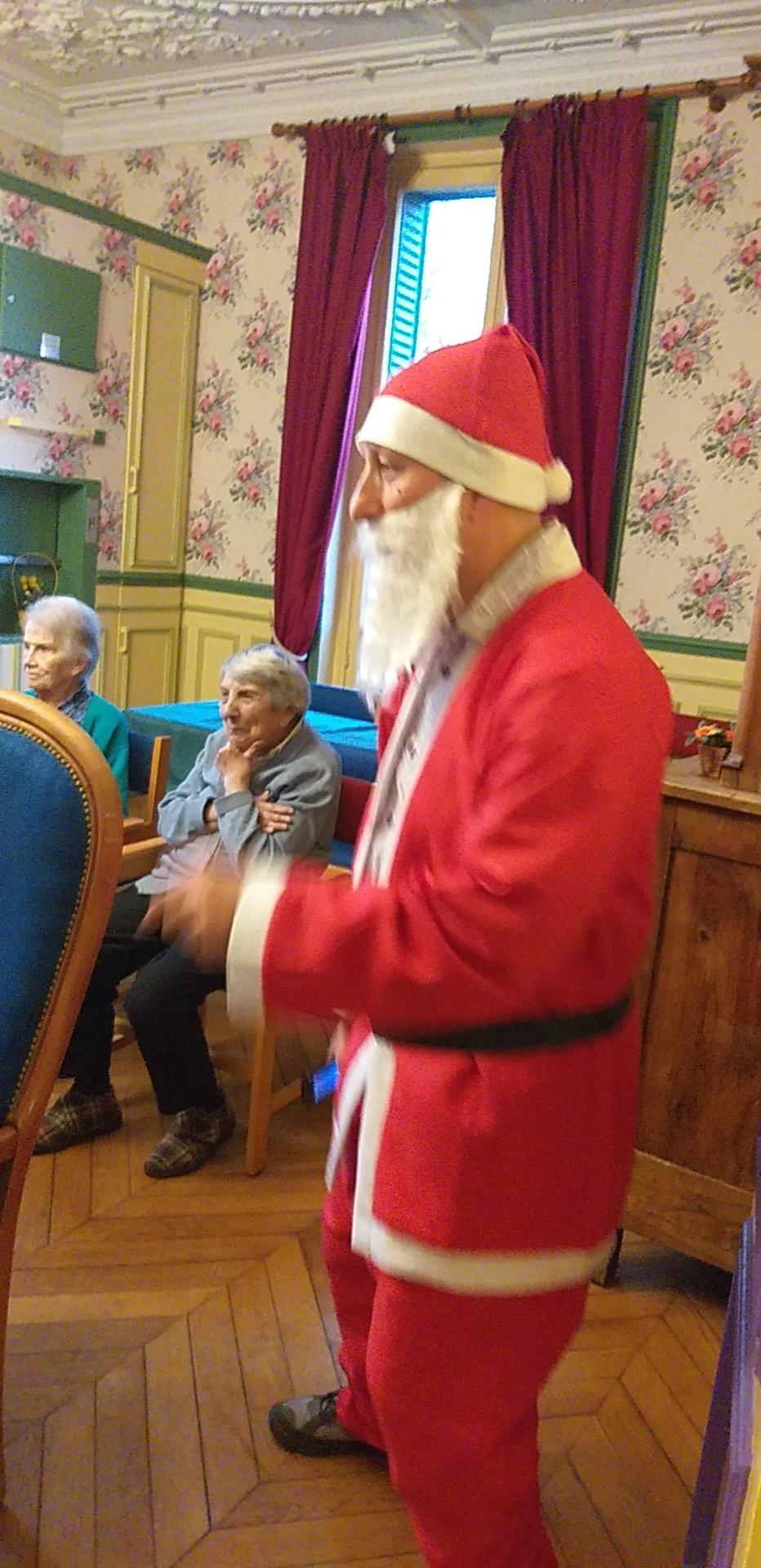 Visite surprise pour Noel