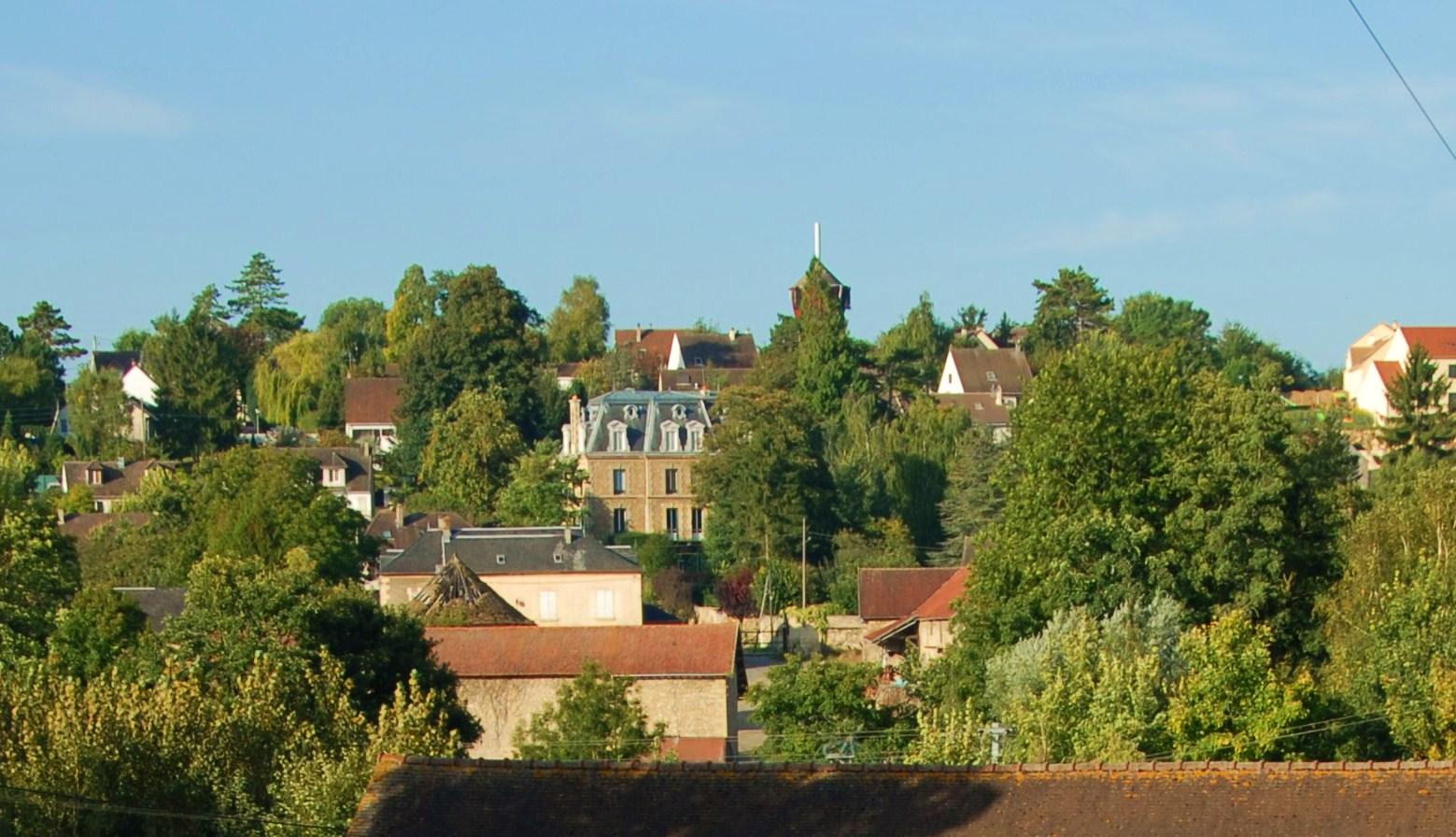 Vue du village Résidence sénior Maison de Retraite Ma Vallée Us Val d'Oise 95