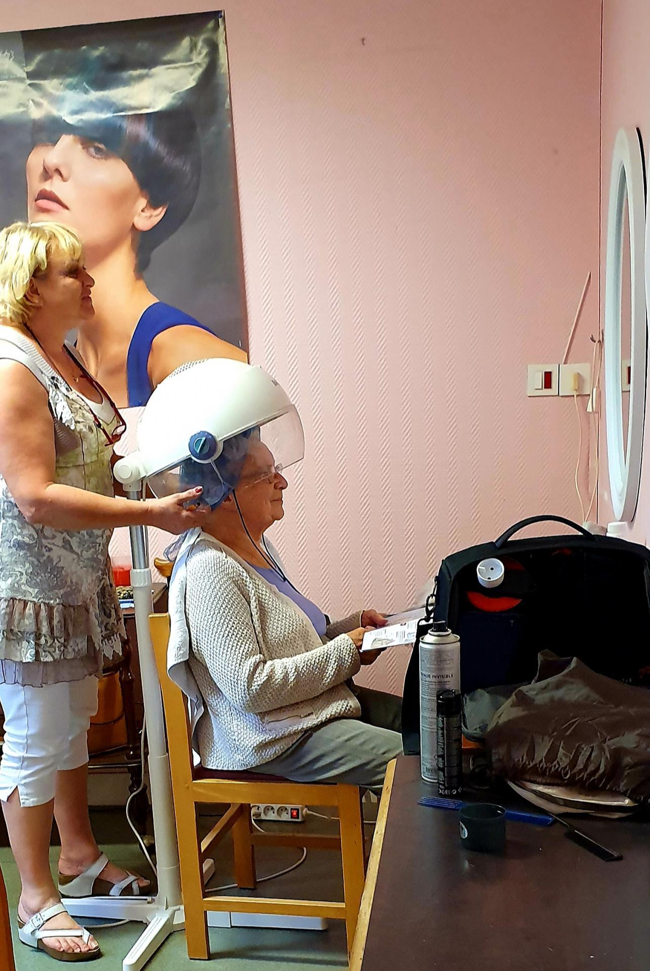 Salon de coiffure dans la Résidence