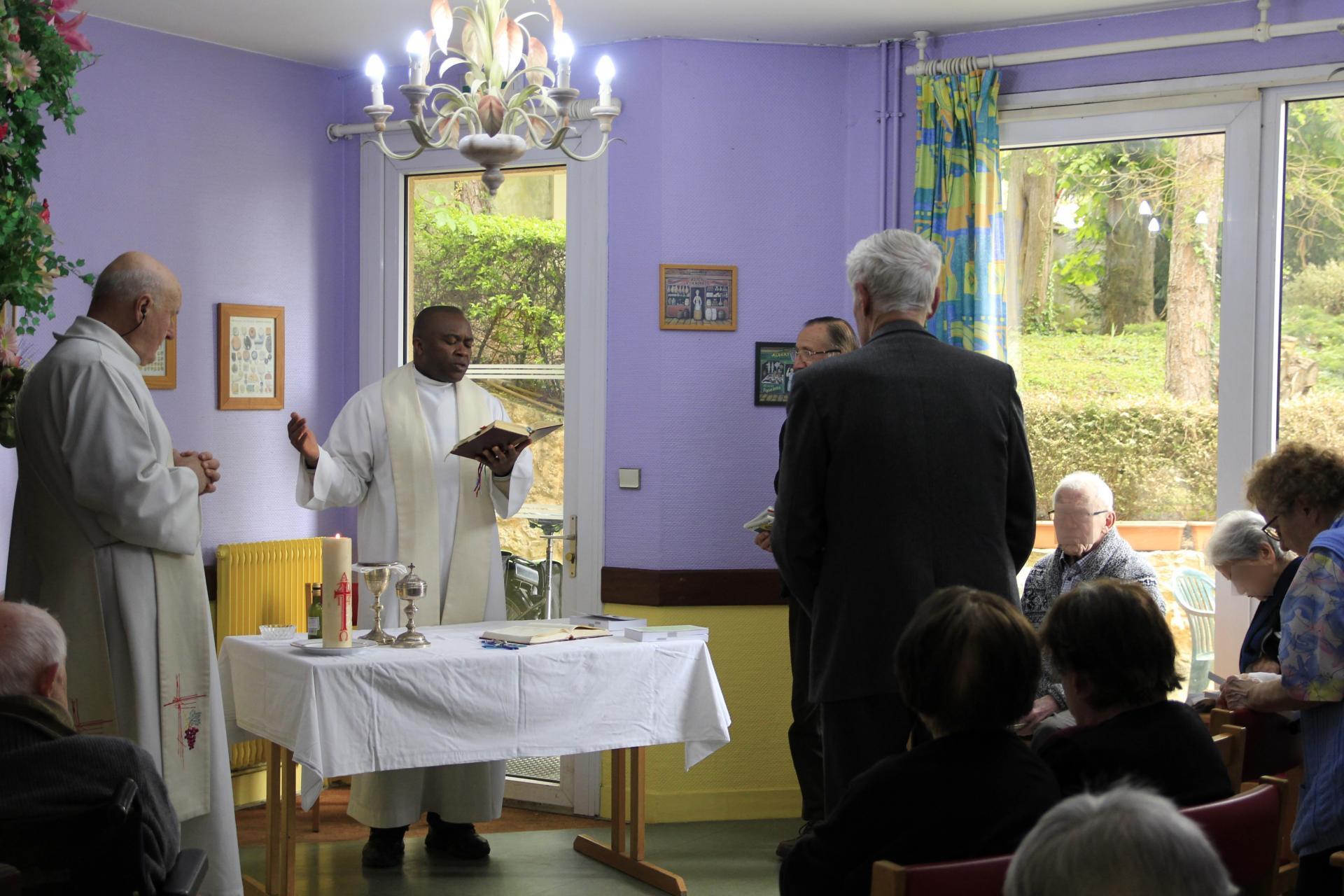 Messe Résidence sénior Maison de Retraite Ma Vallée Us Val d'Oise 95